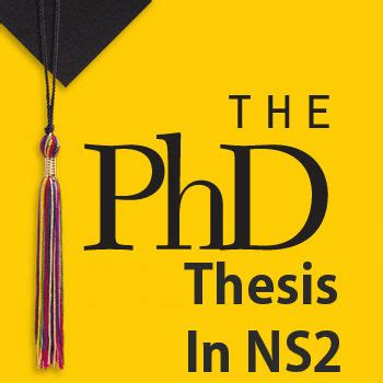 How to Write a PhD Dissertation - Purdue University